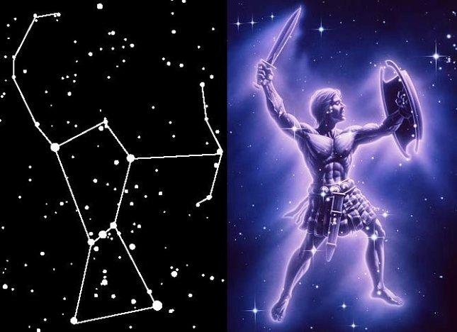 Constelación-de-Orión