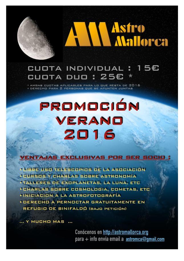 PROMO SOCIOS VERANO 2016