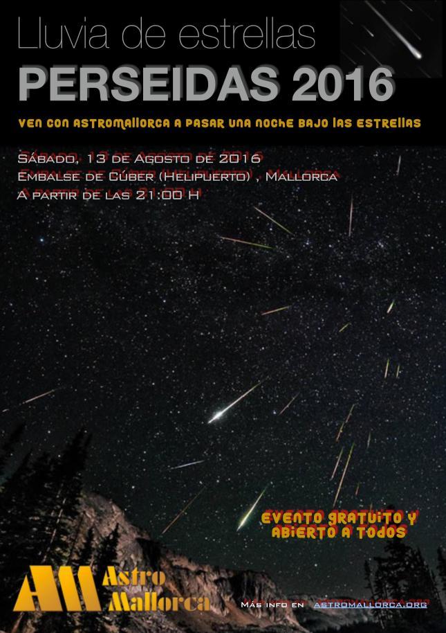 PERSEIDAS 2016