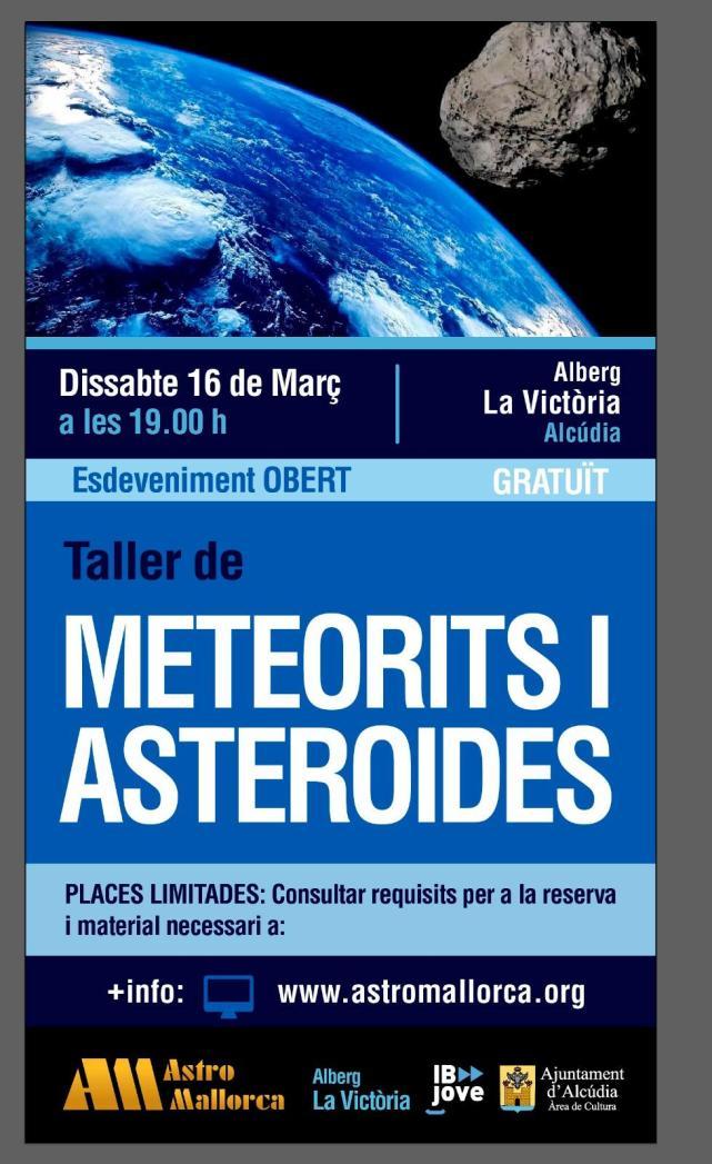 Taller meteoritos